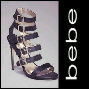 BEBE Raya Multi-Buckle Sandals